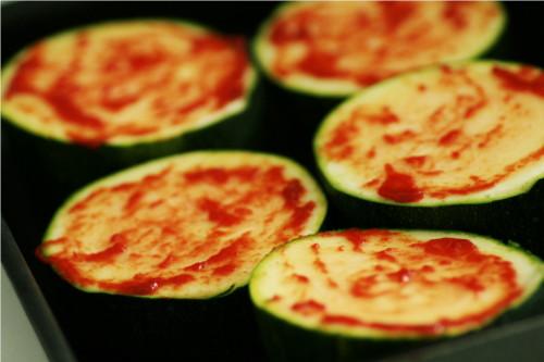 pizza courgette base