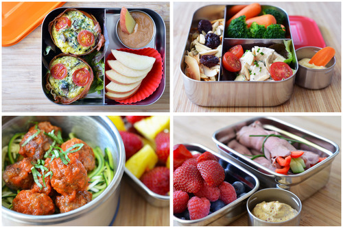 lunch box paléo