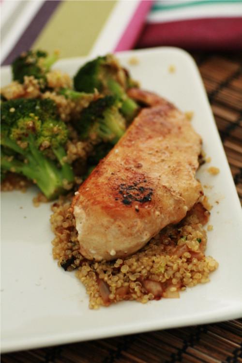 poelée quinoa brocoli zone