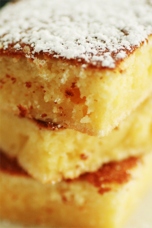 gâteau moelleux citron