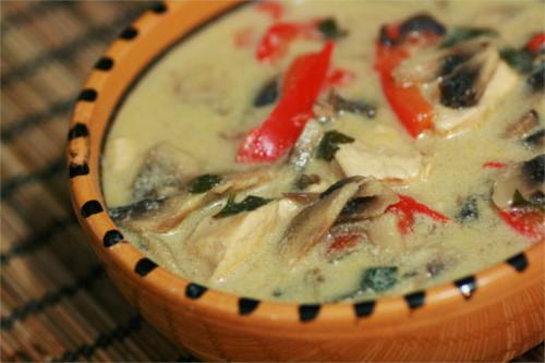 soupe thai poulet paleo
