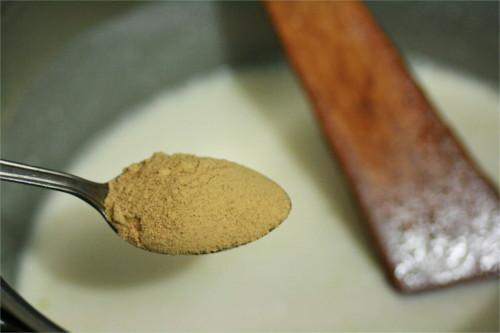 gingembre lait de coco