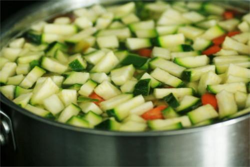 légumes pour tortillas
