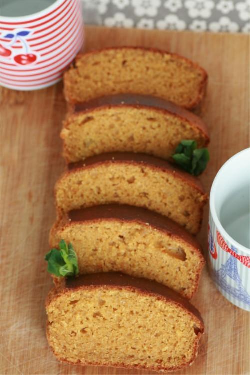cake mangue compote