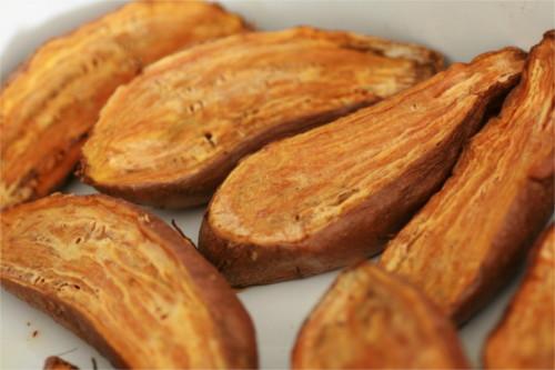 Cromesquis de patates douces et tomates s ch es - Cuisiner de la patate douce ...
