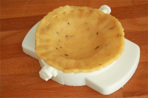 pâte brisée aromatisée