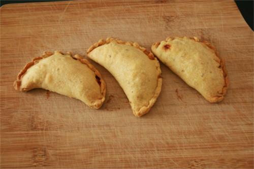 empanadas végétariens poivrons oignons