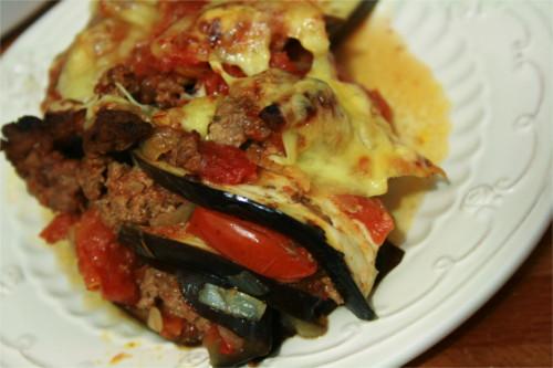 lasagnes d'aubergines paléo