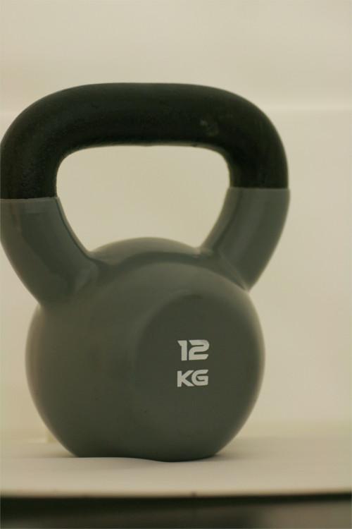 kettlebell de 12kg à décathlon