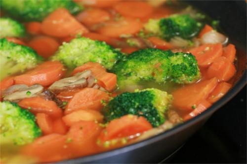 poulet carotte brocoli